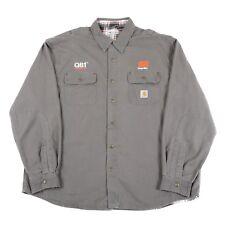 VGC CARHARTT Heavy Cotton, Lined Overshirt Jacket   2XL XXL   Vintage Coat Shirt