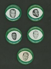 1969 Drenks Potato Chips Green Bay Packers Pins Lot of 5