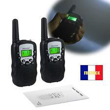 2x talkie-walkie PMR 446 8 canaux talkies-walkies pour enfants jouet cadeau