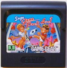 Jeu SEGA GAME PACK 4 IN 1 pour GAME GEAR juego spiel giocco vintage TBE
