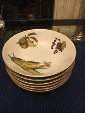 Royal Worcester Evesham Gold Cereal Bowls 6 available