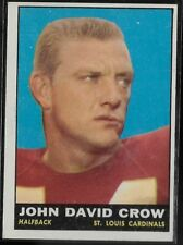 1961 Topps Football John David Crow #116!  Low Combined Shipping!