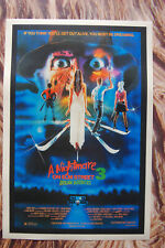 A Nightmare on Elm Street Part 3 Dream Warriors Lobby Card Movie Poster #1