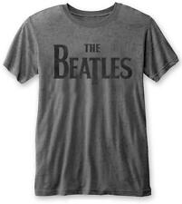 The Beatles 'Drop T Logo' Burnout T-Shirt - NEW & OFFICIAL