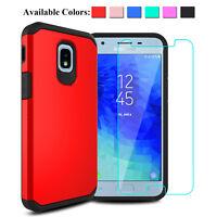 For Samsung Galaxy J3 Orbit/J3 2018/Achieve/Star/Aura Case With Screen Protector