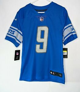 Nike Detroit Lions Matthew Stafford Stitched Jersey Men's Size S NWT $150 MSRP