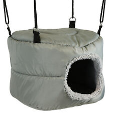 SOFT GREY IGLOO PET BED CAVE TOY HAMMOCK GUINEA PIG/SMALL DWARF RABBIT CAGE/RUN