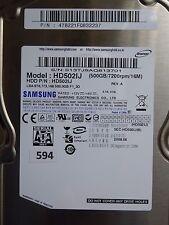 500gb Samsung hd502ij | p/n: 478821fq832237 | 2008.08 #594