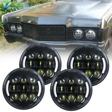 "4pcs 5.75"" 5 3/4inch LED Headlight DRL Assembly High Low Beam For Car Pickup"