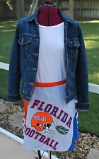University of Florida Gators Game Day A line Skirt Upcycled T-Shirts Large
