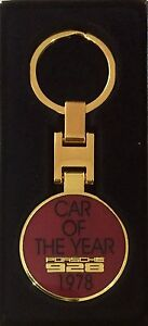 Porsche 928 40th Anniversary Car Of The Year Keyring ** Sale .. Now Only £9.95 !
