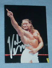 Val Venis Signed 1999 Comic Images WWF WWE Card 27 Autograph SmackDown Wrestling