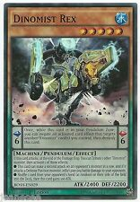 Dinomist Rex BOSH-EN029 Super Rare Yu-Gi-Oh Card Mint 1st Edition New