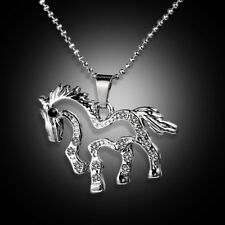 Pendant Accessories Gifts Hot 1pcs Charm-Novelty Crystal Pony Chain Necklace