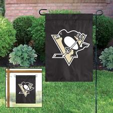 """Pittsburgh Penguins 10.5"""" x 15"""" NHL Licensed Window Banner / Flag -Free Shipping"""