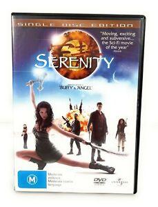 Serenity (DVD, 2005) Gina Torres Region 4 Free Postage