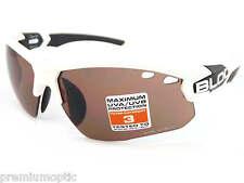 BLOC Para Hombre Titan Sports Gafas De Sol Pulidas Blanco/Vermillion CAT.3 Lente X631S