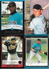 MIGUEL CABRERA   ROOKIES & INSERTS LOT  (4) CARDS