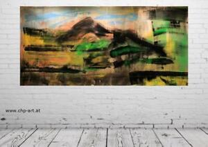 Großes Acryl Gemälde XXL Modern CHP1713 Handgemalt Bild Kunst Abstrakt 200x100cm