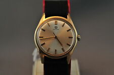 Omega Manual 9ct Gold Mens Watch TOA - Vintage