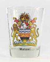 MALAWI COAT OF ARMS SHOT GLASS SHOTGLASS