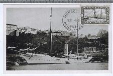 1949 - Fdc Cp 1°Jour - Monaco**Le yacht-Hirondelle II**Timbre - Yt.N°329