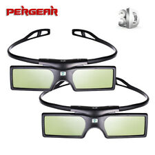 2*G15-BT Bluetooth 3D Active Shutter Glasses for Epson/Samsung/SONY/SHARP 3D TV