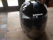 Schuberth Titansilbermetallic S 54/55 Black Open Face Crash Helmet