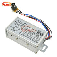 DC 9-60V PWM Motor Speed Controller Switch Stepless Variable Pulse Driver Max20A