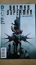 BATMAN SUPERMAN #1 1ST PRINT DC COMICS (2013) JAE LEE NEW 52