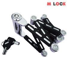 High Security Tubular Bike Lock Folding Bicycle Lock Bike Foldable Lock Fold