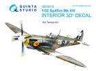 Quinta QD32019 1/32 Spitfire Mk.VIII 3D-Printed  coloured interior for Tamiya