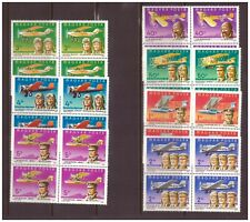 Hungary 1978 Motorized flight 75 yrs in block of 4 MNH**