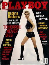 Playboy February 1998-C - Daphne Deckers - Julia Schultz - Conan O'Brien