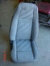 Jeep Wrangler Grey cloth Passengers side front seat 91-92-93-94-95 YJ Right