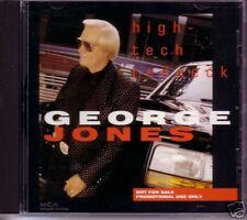George Jones High Tech Redneck PROMO DJ CD Single 1993