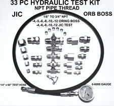 Hydraulic 33 PC Fast Test Kit 1/8