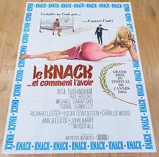 Affiche de cinéma : LE KNACK...ET COMMENT L'AVOIR de RICHARD LESTER
