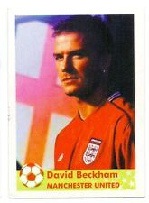 STICKER - DAVID BECKHAM - MAN UTD ENGLAND -  WORLD CUP 2002 GRAMAL EDITION