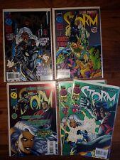 MARVEL COMICS LOT: STORM  #1-4  (1996)  DODSON