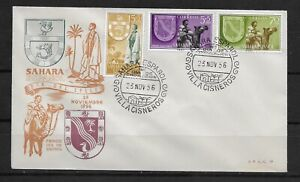 E7561  Spanish Sahara 1956 Semi Postal First Day Cover