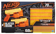 NERF ALPHA STRIKE FANG QS-4 DART BLASTER LOAD OUT SET 70 PIECES ***BRAND NEW***