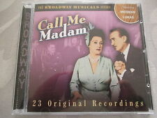 Call Me Madam - 23 Original Recordings - The Broadway Musicals Series - CD