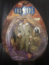 Farscape John Crichton Action Figure Series 1 Toy Vault (Card And bubble Issues)