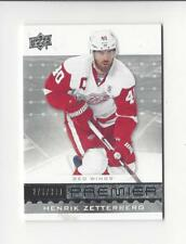 2016-17 Upper Deck Premier #19 Henrik Zetterberg Red Wings /399