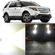 Alla Lighting Fog Light 9145 White LED Bulbs for 02~10 Ford Explorer Sport Trac