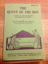 The Quest Of The Boy By FWW Griffin 1935 Vintage Scout Paperback