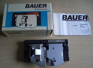 Bauer Filmklebepresse für Super 8 Film mit Originalverpackung
