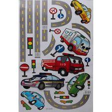 3D Kinder Wandsticker Wanddeko Wandtattoo Wandaufkleber Auto Car