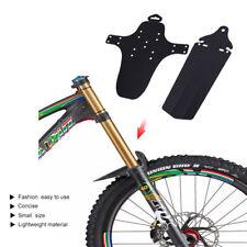 2PCS MTB Bicycle Mudguards Mountain Bike Fenders Front Tyre Mud Guards Tool UK